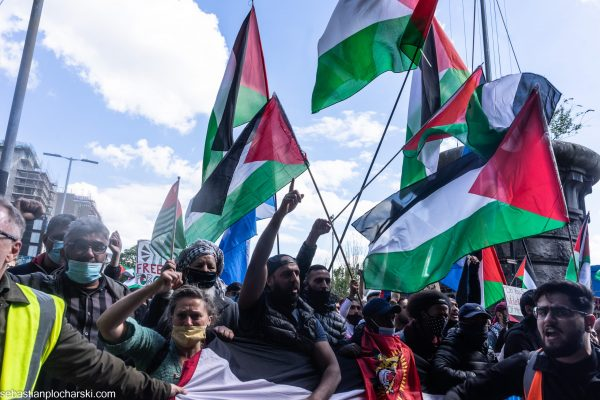 Palestine Protest in Glasgow 16th May 2021