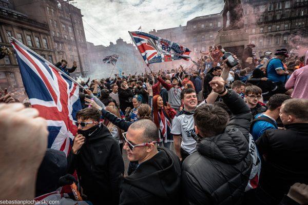Uncritical portraits of Glasgow Rangers fans